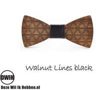 Walnut lines Black